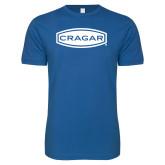 Next Level SoftStyle Royal T Shirt-Cragar
