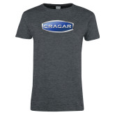 Ladies Dark Heather T Shirt-Cragar