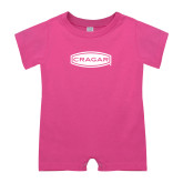Bubble Gum Pink Infant Romper-Cragar