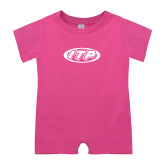 Bubble Gum Pink Infant Romper-ITP