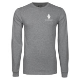Grey Long Sleeve T Shirt-The Carlstar Group