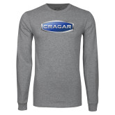 Grey Long Sleeve T Shirt-Cragar