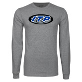 Grey Long Sleeve T Shirt-ITP