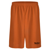 Performance Classic Orange 9 Inch Short-Black Rock