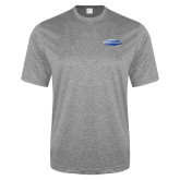 Performance Grey Heather Contender Tee-Cragar