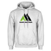White Fleece Hoodie-Marastar