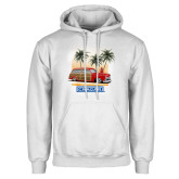 White Fleece Hoodie-49 Woody