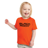 Toddler Orange T Shirt-Black Rock