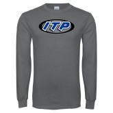 Charcoal Long Sleeve T Shirt-ITP
