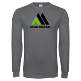 Charcoal Long Sleeve T Shirt-Marastar