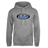 Russell DriPower Grey Fleece Hoodie-ITP