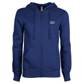 ENZA Ladies Royal Fleece Full Zip Hoodie-ITP