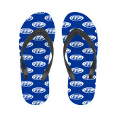 Ladies Full Color Flip Flops-ITP