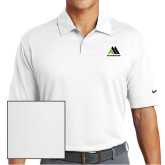 Nike Dri Fit White Pebble Texture Sport Shirt-Marastar