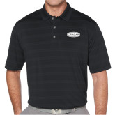 Callaway Horizontal Textured Black Polo-Cragar