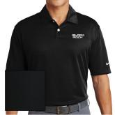 Nike Dri Fit Black Pebble Texture Sport Shirt-Black Rock