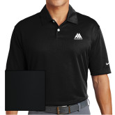 Nike Dri Fit Black Pebble Texture Sport Shirt-Marastar