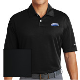 Nike Dri Fit Black Pebble Texture Sport Shirt-Cragar