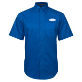 Royal Twill Button Down Short Sleeve-Cragar
