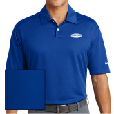 Nike Dri Fit Royal Pebble Texture Sport Shirt-Cragar