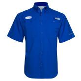 Columbia Tamiami Performance Royal Short Sleeve Shirt-Cragar