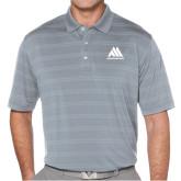 Callaway Horizontal Textured Steel Grey Polo-Marastar