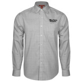Red House Grey Plaid Long Sleeve Shirt-Black Rock