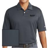 Nike Dri Fit Charcoal Pebble Texture Sport Shirt-Black Rock