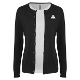 Ladies Black Cardigan-Marastar