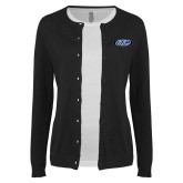 Ladies Black Cardigan-ITP