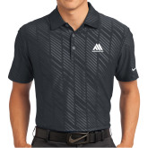 Nike Dri Fit Black Embossed Polo-Marastar