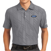 Nike Dri Fit Charcoal Embossed Polo-ITP