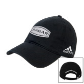 Adidas Black Slouch Unstructured Low Profile Hat-Cragar