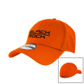 New Era Orange Diamond Era 39Thirty Stretch Fit Hat-Black Rock