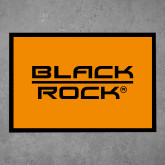 Full Color Indoor Floor Mat-Black Rock