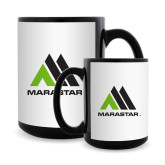 Full Color Black Mug 15oz-Marastar