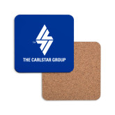Hardboard Coaster w/Cork Backing-The Carlstar Group
