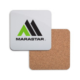 Hardboard Coaster w/Cork Backing-Marastar