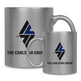Full Color Silver Metallic Mug 11oz-The Carlstar Group
