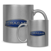 Full Color Silver Metallic Mug 11oz-Cragar