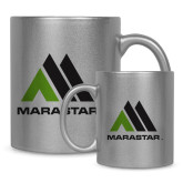 Full Color Silver Metallic Mug 11oz-Marastar