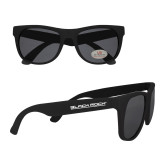 Black Sunglasses-Black Rock Wordmark