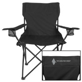Deluxe Black Captains Chair-The Carlstar Group Wordmark
