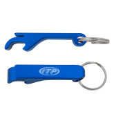 Aluminum Blue Bottle Opener-ITP  Engraved