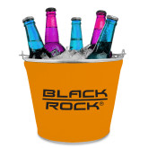 Metal Ice Bucket w/Neoprene Cover-Black Rock