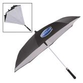 48 Inch Auto Open Black/White Inversion Umbrella-Cragar