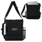 Impact Vertical Black Computer Messenger Bag-Cragar