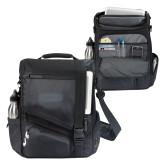 Momentum Black Computer Messenger Bag-Cragar