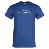 Royal T Shirt-College of St. Joseph