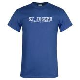Royal T Shirt-St. Joseph Fighting Saints Distressed
